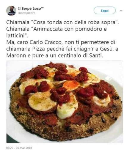 La Margherita di Cracco divide Napoli: critiche e polemiche sui social
