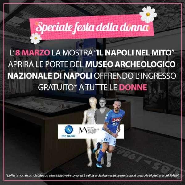 Napoli nel mito, la mostra al MANN omaggia le donne per l'8 Marzo
