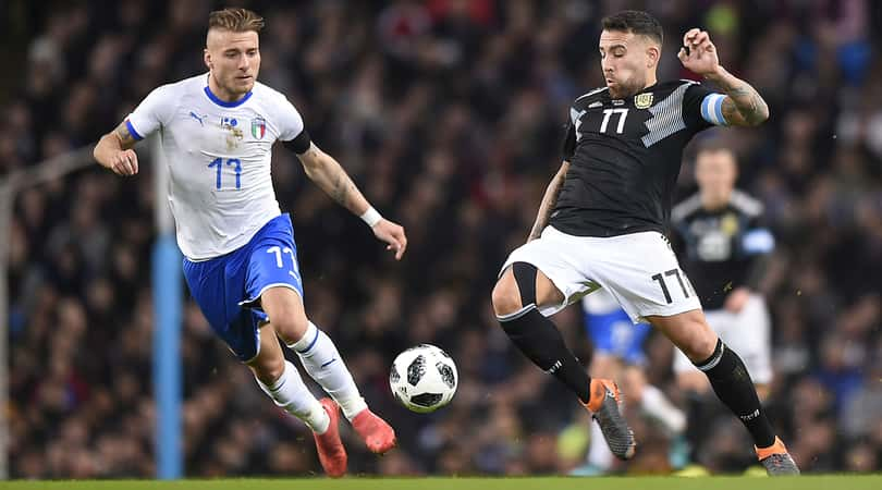Argentina-Italia 2-0. Banega e Lanzini battono gli azzurri