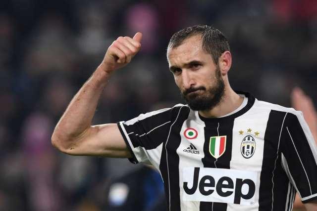 """Chiellini: """"pensiamo solo a sorpassare il Napoli, abbiamo fatto un patto"""""""