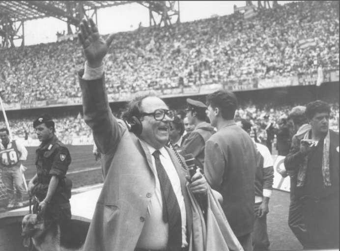 Napoli, morto Luigi Necco, raccontò egli scudetti del Napoli di Maradona