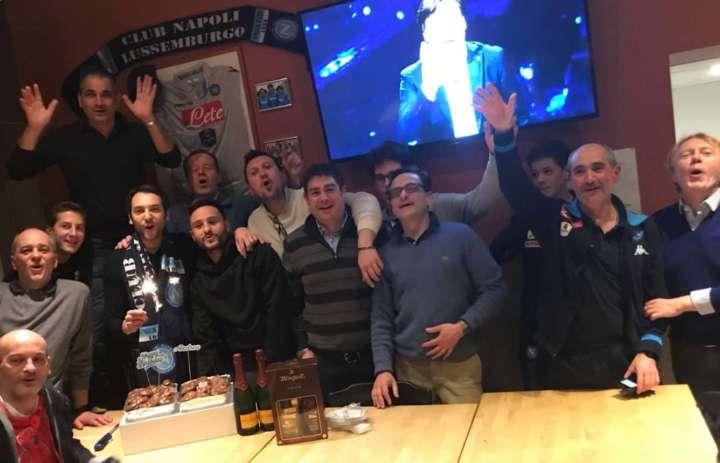 club napoli lus 2 min - Hamsik che regalo ai tifosi del Napoli in Lussemburgo