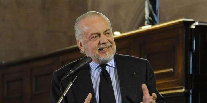 De Laurentiis alla Nunziatella. Il presidente del Napoli fa lezione ai cadetti
