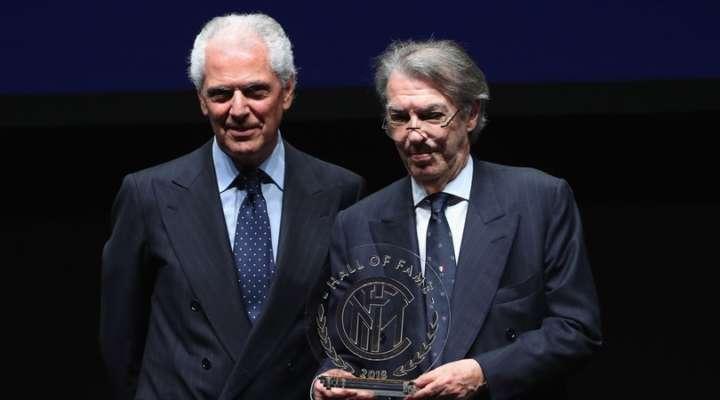 """DA APPLAUSI. Moratti tifa Napoli: """"L'Inter deve battere la Juve"""""""