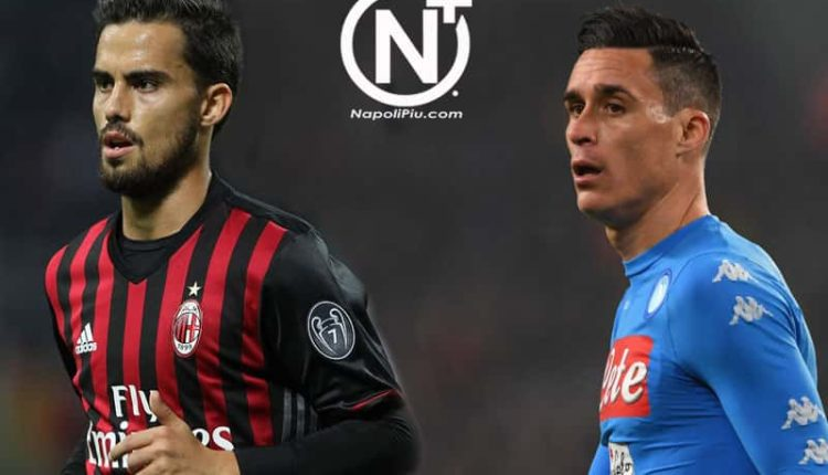 Il Milan vuole Callejon, il Napoli su Suso, De Laurentiis ci provò a Gennaio