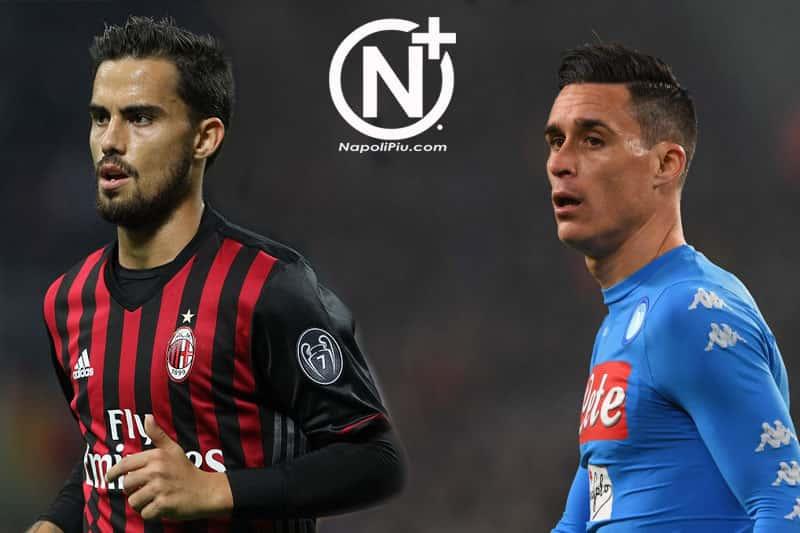 Suso-Callejon, Milan e Napoli pensano a uno scambio clamoroso