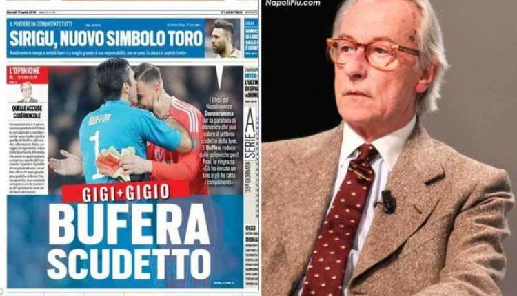 Feltri su Tuttosport attacca i napoletani. Arriva la risposta da Napoli