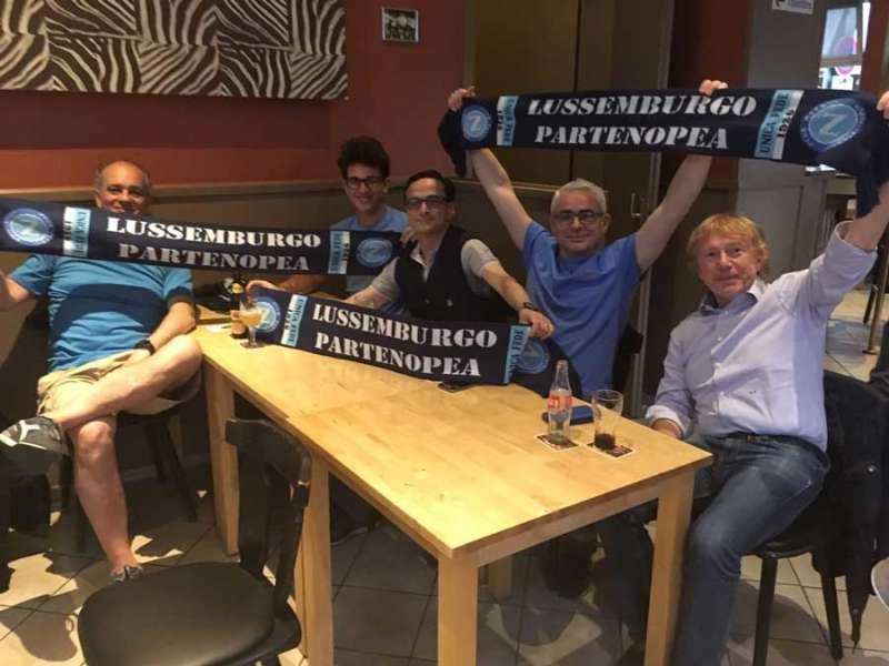 In Lussemburgo impazziti per la vittoria del Napoli sulla Juventus