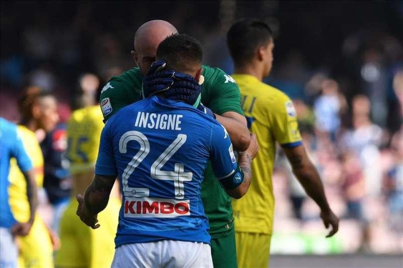 FOTO-. Il Napoli perde, Reina chiama Insigne e da la scossa