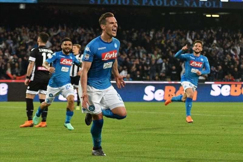 Con un Milik in più nel motore, il Napoli può battere la sindrome da Stadium