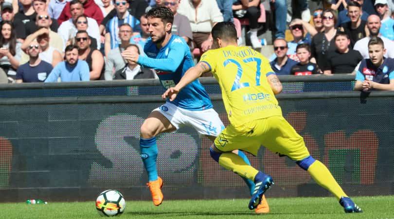 Napoli-Chievo 2-1. Le lacrime di Diawara e la rimonta degli azzurri