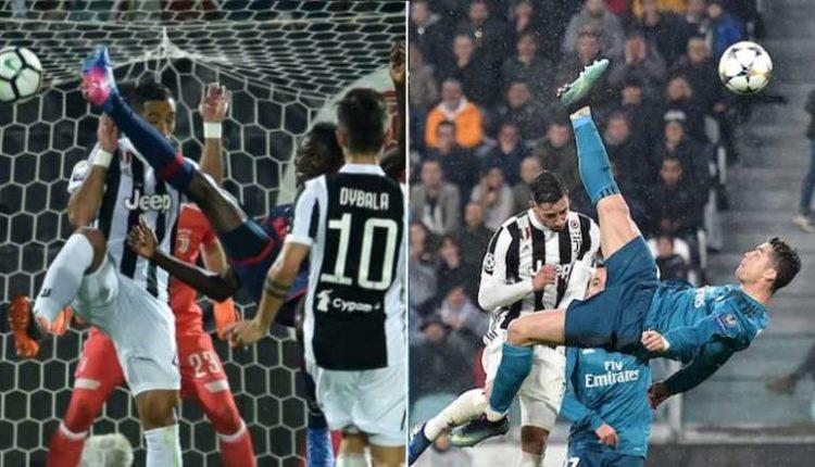 La rovesciata di Simy castiga la Juve come Ronaldo. [VIDEO]