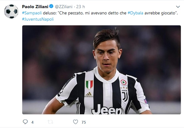 """DA APPLAUSI Ziliani su Sarri: """"lui lo scudetto l'ha già vinto. Ecco perchè"""""""