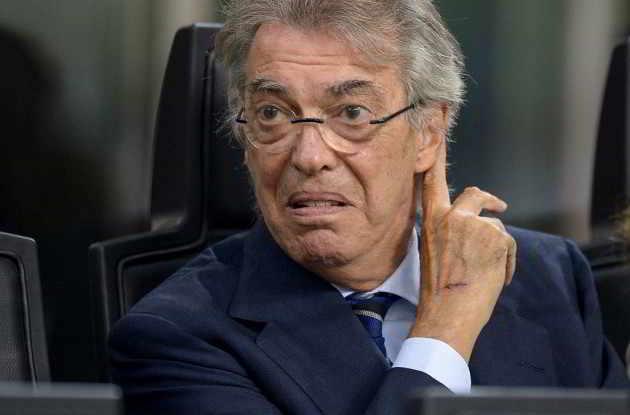 """Moratti attacca la Juve. L'ex presidente dell'Inter si toglie qualche sassolino dalla scarpa: """"La Juventus gode della simpatia degli arbitri""""."""