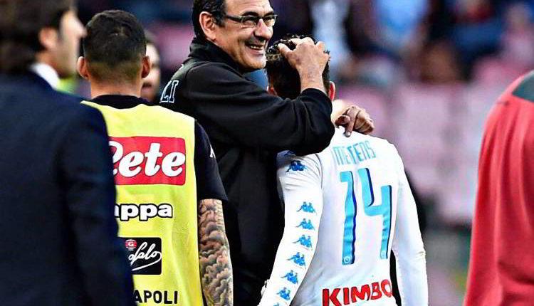 """Bellissima dichiarazione d'amore di Mertens a Sky. Il belga saluta Sarri e poi ammette:Io in """"premier? voglio vincere a Napoli, Sono felicissimo e sto bene in città"""""""