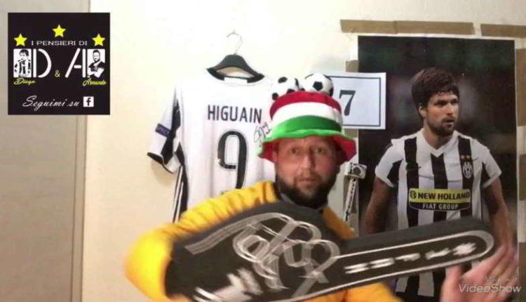 RIDICOLO. Il tifoso Napoletano-Juventino prende in giro i tifosi azzurri [VIDEO]