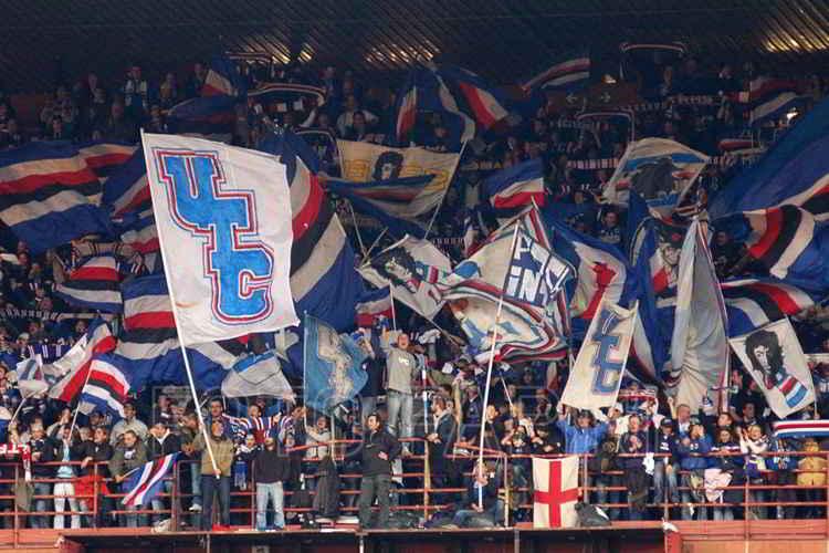 Il giudice sportivo ha inflitto solo una multa alla Sampdoria per i cori razzisti contro i Napoletani. La curva doriana non sarà squalificata.