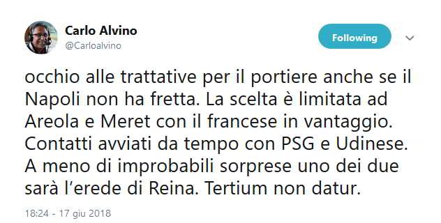 """Carlo Alvino: """"Ecco perché' ho messo il tweet con le bombe"""""""