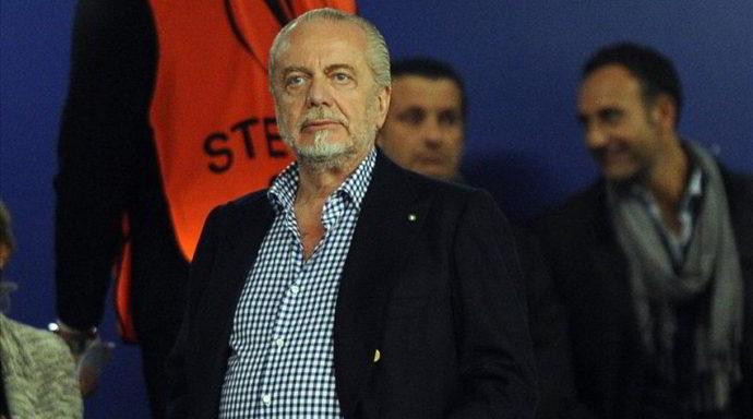"De Laurentiis: ""Sarri al Chelsea? chi vivra'... Hamsik? voglio 30 milioni Entro lunedì altrimenti..."""