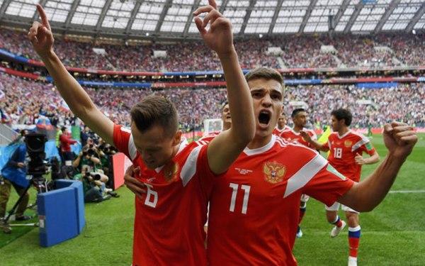 Russia vince all'esordio. Contro l'Arabia Saudita è 5-0