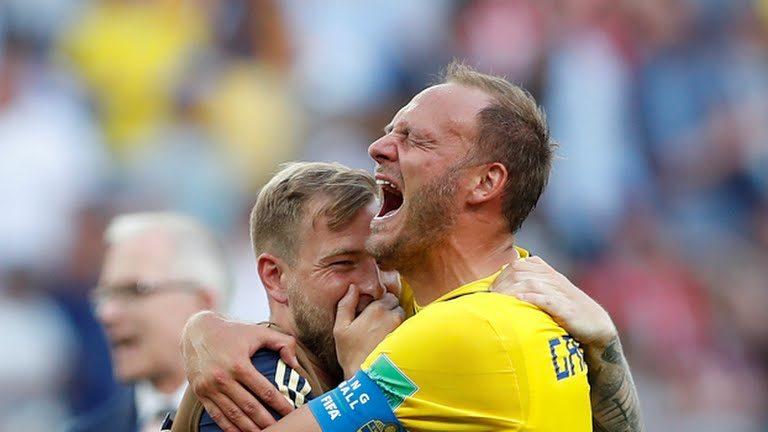 La Svezia passa con un rigore di Granqvist