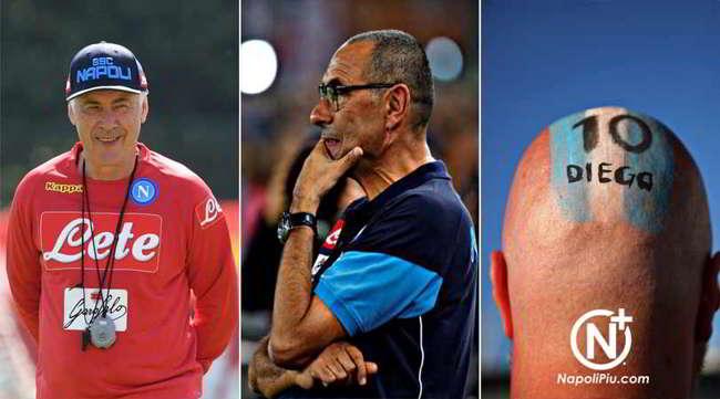 Ancelotti, Sarri e il Napoli: Dove eravamo ? e dove siamo?