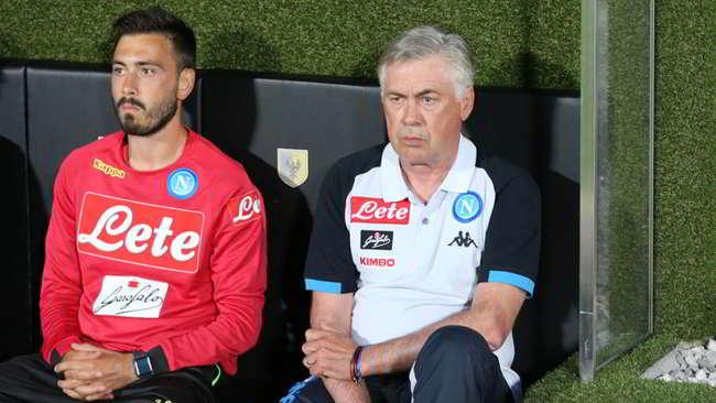 """Napoli-Carpi, Ancelotti soddisfatto: """"in attacco c'è abbondanza"""". Retroscena Allan Terzino"""