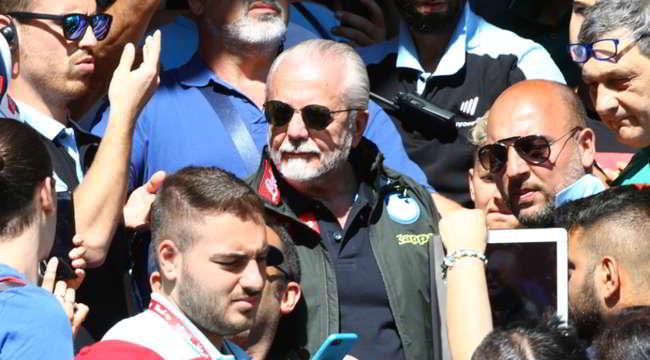"De Laurentiis a Sky: ""Si sta facendo un torto al Napoli. A Benzema dico una cosa..."""