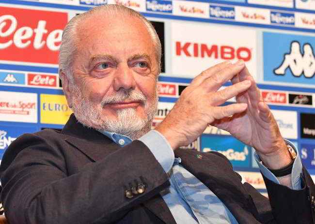 """De Laurentiis: """"non si nega un appuntamento a Cavani. Mertens resta, retroscena Chiesa"""""""