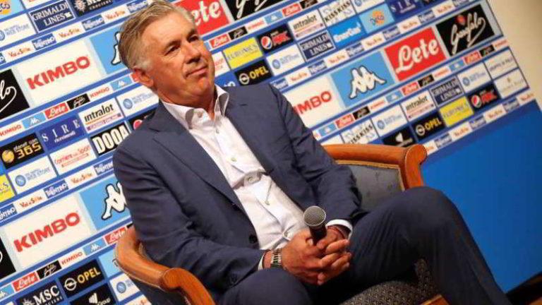 """Ancelotti: """"Sono aziendalista e soddisfatto della rosa, il Napoli non è il Real o il Bayern"""""""