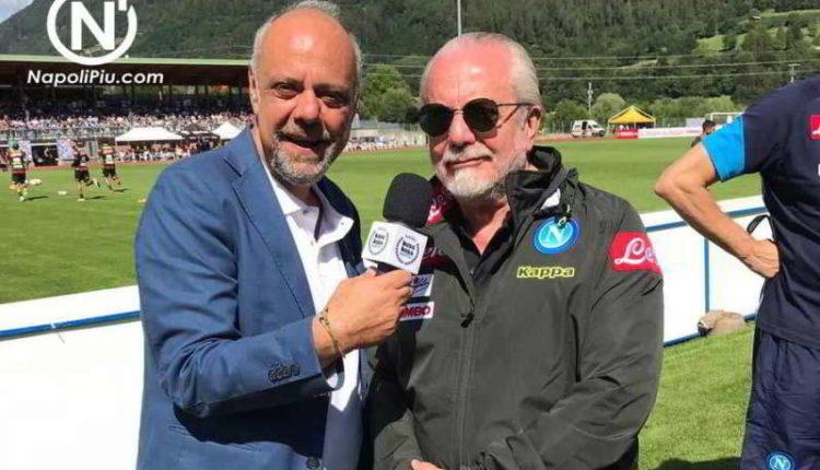 """De Laurentiis: """"Volevo Ronaldo, Ruiz è un fuoriclasse. Novità sul mercato..."""""""