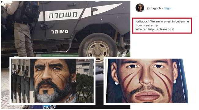 Arrestato in Israele Jorit, aveva dipinto Maradona e San Gennaro