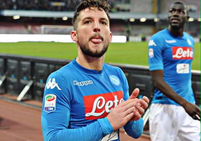 """Il padre di Mertens rivela: """"ha parlato con Ancelotti, l'obiettivo è vincere lo scudetto col Napoli"""""""