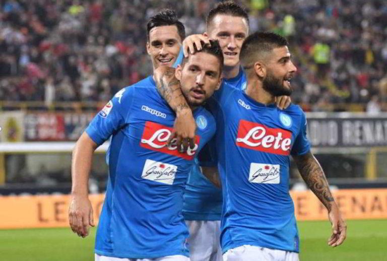 Napoli tra le favorite per la vittoria dello Scudetto 2018/2019