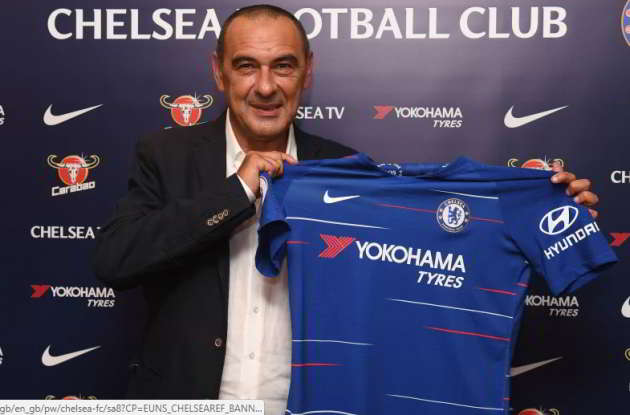 "Sarri si presenta al Chelsea: ""devo dire grazie ai napoletani, li amerò per sempre""."