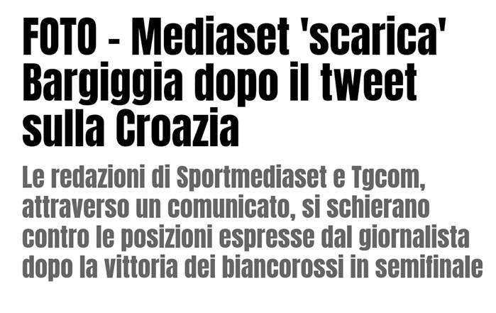 """Silver Mele: """"Mediaset scarica Bargiggia, il tempo svela la reale essenza di ognuno"""""""