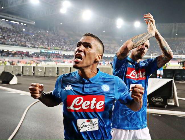 """Allan: """"E' arrivato il momento che il Napoli vinca qualcosa. Ancelotti il top"""""""