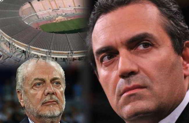 """Il calcio Napoli risponde a De Magistris: """"offende Napoli al cospetto di turisti inorriditi"""""""