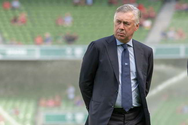"""Dazn, Ancelotti: """" Napoli è Bellissima. Milan? C'è preoccupazione…"""""""