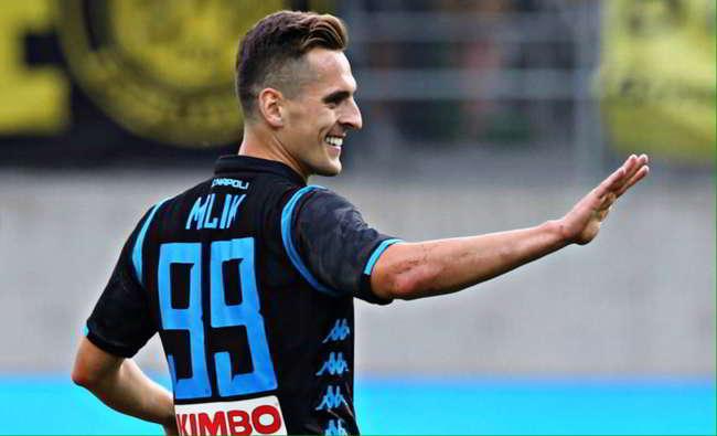Napoli-Borussia dortmund 3-1: a San Gallo un altro Napoli