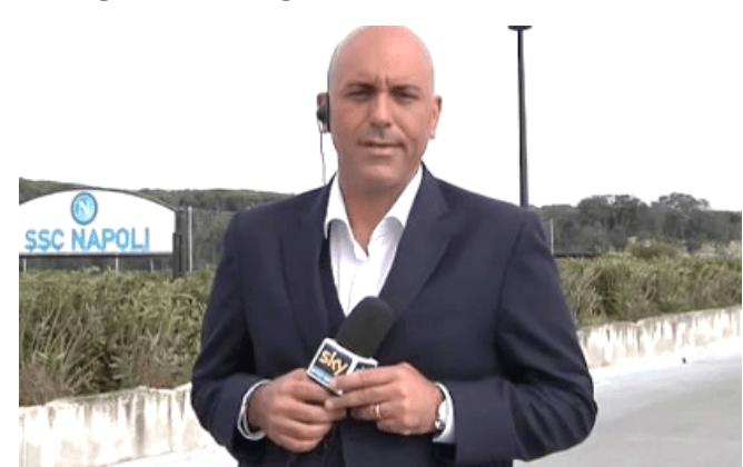 """Sky, Modugno: """"ho una sensazione sul prossimo acquisto del Napoli"""""""