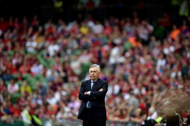 """Ancelotti a Dazn: """"A Napoli per lo scudetto. Gattuso è sempre lo stesso"""