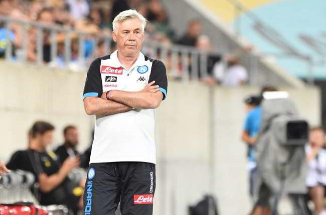 """Ancelotti: """"Bene Milik, Malcuit è molto veloce. Per la difesa dovrò telefonare a Sarri"""""""