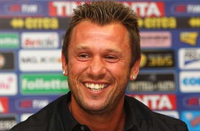 """Cassano: """"Napoli da terzo-quarto posto. Juve come Bolt. Cerco progetto serio"""""""