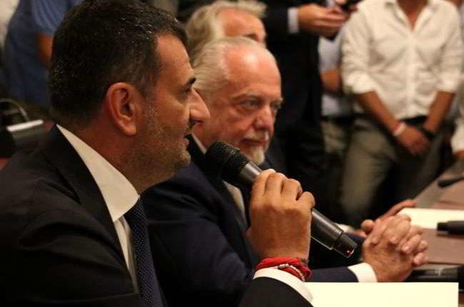 """De Laurentiis: """"Il Bari non sarà mai un'appendice del Napoli. Ecco cosa faremo"""""""