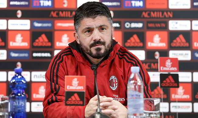 """Gattuso su Ancelotti: """"E' il mio maestro. Napoli-Milan? solo con Higuain non vinciamo niente"""""""