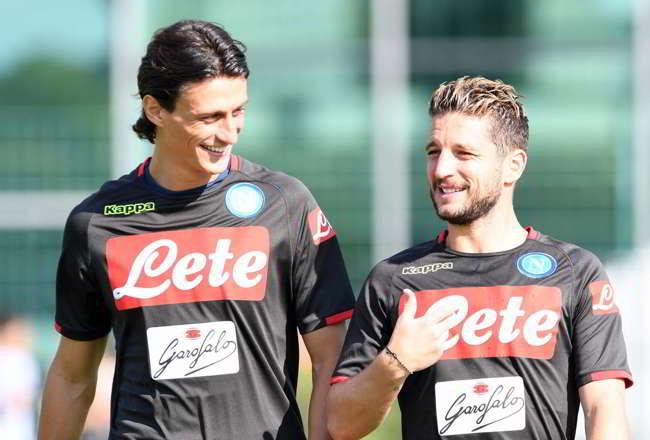 Mertens l'uomo in più di Carlo Ancelotti al Napoli