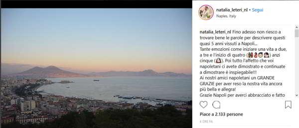 """Bellissima lettera della moglie di Jorginho a Napoli: """"Non vi dimenticheremo mai!"""