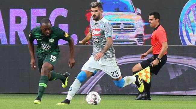 Wolfsburg-Napoli 3-1. Difesa colabrodo, l'attacco non punge. Occorrono rinforzi