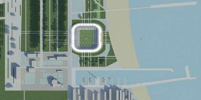 Nuovo stadio del Napoli a Castel Volturo. Il Gruppo Coppola ha trovato l'area